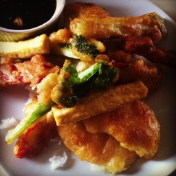 Meatless Monday: NYC Style Tofu and Vegetable Tempura