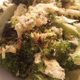 I8tonite: Charred Broccoli with Lemon and Asiago