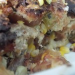 Goat Cheese Bread Pudding