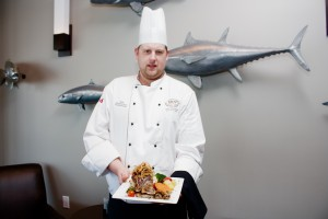 Chef Jesse MacDonald, 1809 Restaurant. Photo by Jessie Voight