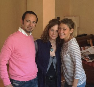 Angelo, Me, and Valentina Abbona, the Marketing Manager and owner's daughter at Marchesi di Barolo, location of one of my best meals of 2015