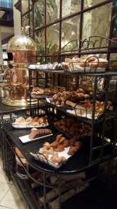 Bread station at the Breakfast Buffet at the Fairmont Queen Elizabeth, Montreal - one of my favorite meals this year.