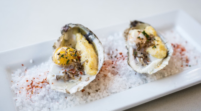 i8tonite: with Chef Jamie Lynch, Charleston's 5Church & Broiled Oysters with Polenta and Quail Egg