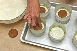 Lemon Ginger Mousse Souffle. Recipe by and interview with cookbook author and pastry chef Abby Dodge