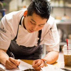 Chef Hiro Takeda. i8tonite with Hope, BC's 293 Wallace Chef Hiro Takeda & Cacio e Pepe Recipe