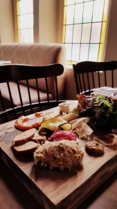 Crudite platter at Revival House. i8tonite: A Cheat Sheet to Eating in Stratford, Ontario