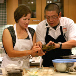 Jung with Chef Alex Ong, formerly of Michelin Bib Gourmand Betelnut