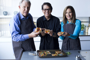 Flatbread Pizza for Perfect Portions Cookbook 2015 . From i8tonite with Bob Warden: QVC Pioneer and Cooking Legend