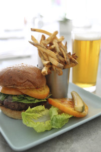 Workshop Burger and Fries. i8tonite: with Palm Springs' Workshop Chef Michael Beckman