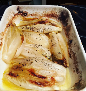 Braised Endive. i8tonite with Toronto Chef, Consultant, and Entrepreneur Joanna Sable