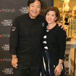 Carolyn Jung and Celebrity Chef Ming Tsai
