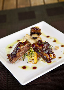 i8tonite: with Meat Market's Chef Sean Brasel and his Asian BBQ Lamb Ribs