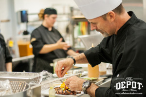 i8tonite: Chef Scott Simpson from Auburn, Alabama's The Depot and Blue Corn Grits