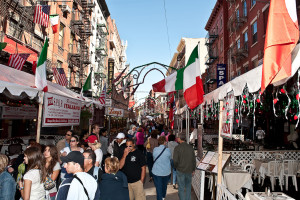 The Feast of San Gennaro, New York City's longest-running, biggest, and most revered religious outdoor festival in the United States. From I8tonite: A Cheat Sheet to Eating in NYC's Little Italy