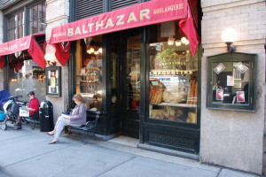 Balthazar. From I8tonite: A Cheat Sheet to Eating in NYC's Little Italy. Photo by Sue and Danny Yee