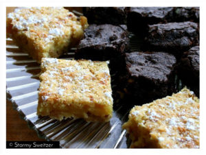I8tonite with Salt Lake City's Global Foodie Stormy Sweitzer & recipes for Out of the Box Mayan Brownies and Key Lime Coconut Bars