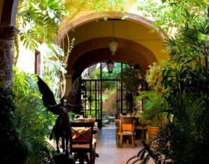 Casa de Sierra Nevada. From i8tonite: a Cheat Sheet to Eating in San Miguel de Allende