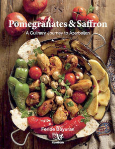 i8tonite with Azerbaijani cookbook author Feride Buyuran & Recipe for Fresh Herb Kükü