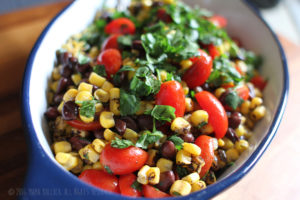 i8tonite with Food and Music Writer Jess Bullock & Recipe for Simple Black Bean, Corn, & Tomato Ensalada
