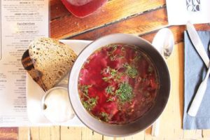 i8tonite with Manhattan Beach's Doma Kitchen Chef Kristina Miksyte & Recipe for Borscht