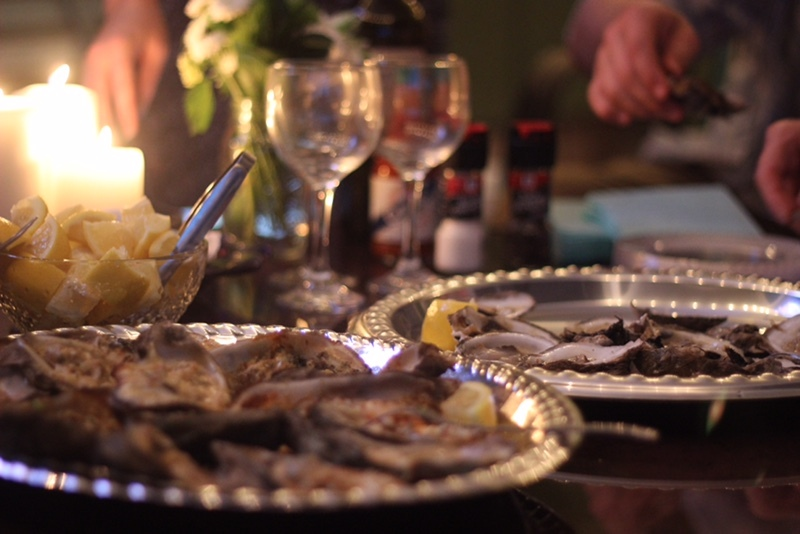 i8tonite with Orange Beach Chef David Pan & Chargrilled Oysters Recipe
