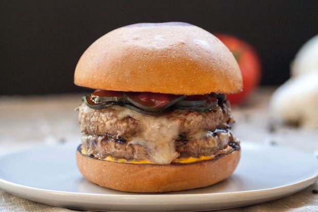 Umami burger. From i8tonite with LA's 21st Century Burger King, Adam Fleischman & Recipe for Shredded Beef Tacos with Chipotle Sauce