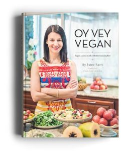 i8tonite with Oy Vey Vegan Author Estee Raviv & Vegan Stuffed Peppers Recipe