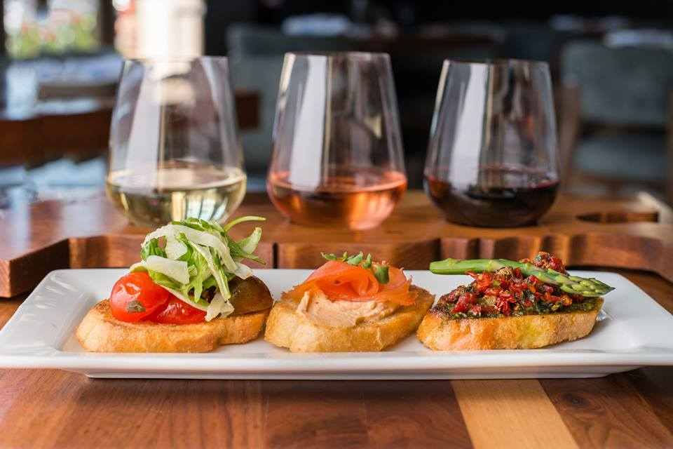 Flights of food & Wine at Angelina's Neapolitan Pizzeria. From i8tonite: 24 Hours of Eating in Irvine, California