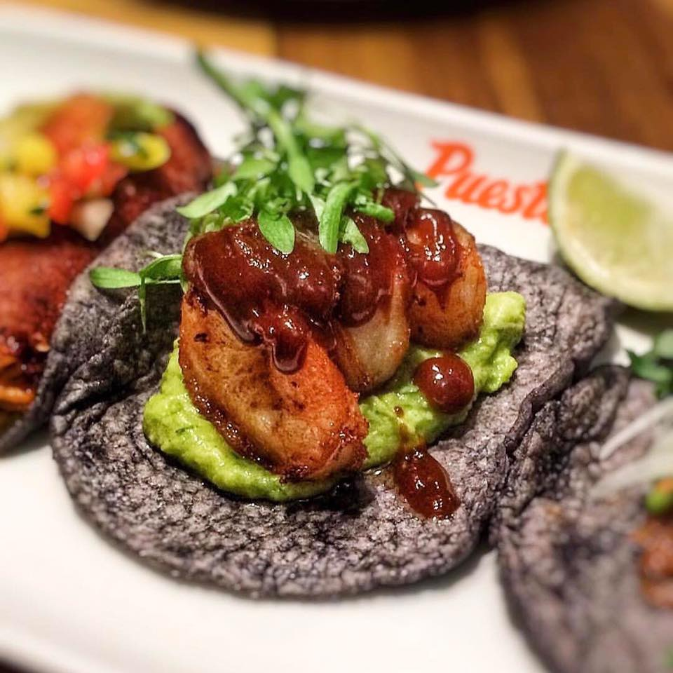 Dinner at Puesto Taco. From i8tonite: 24 Hours of Eating in Irvine, California