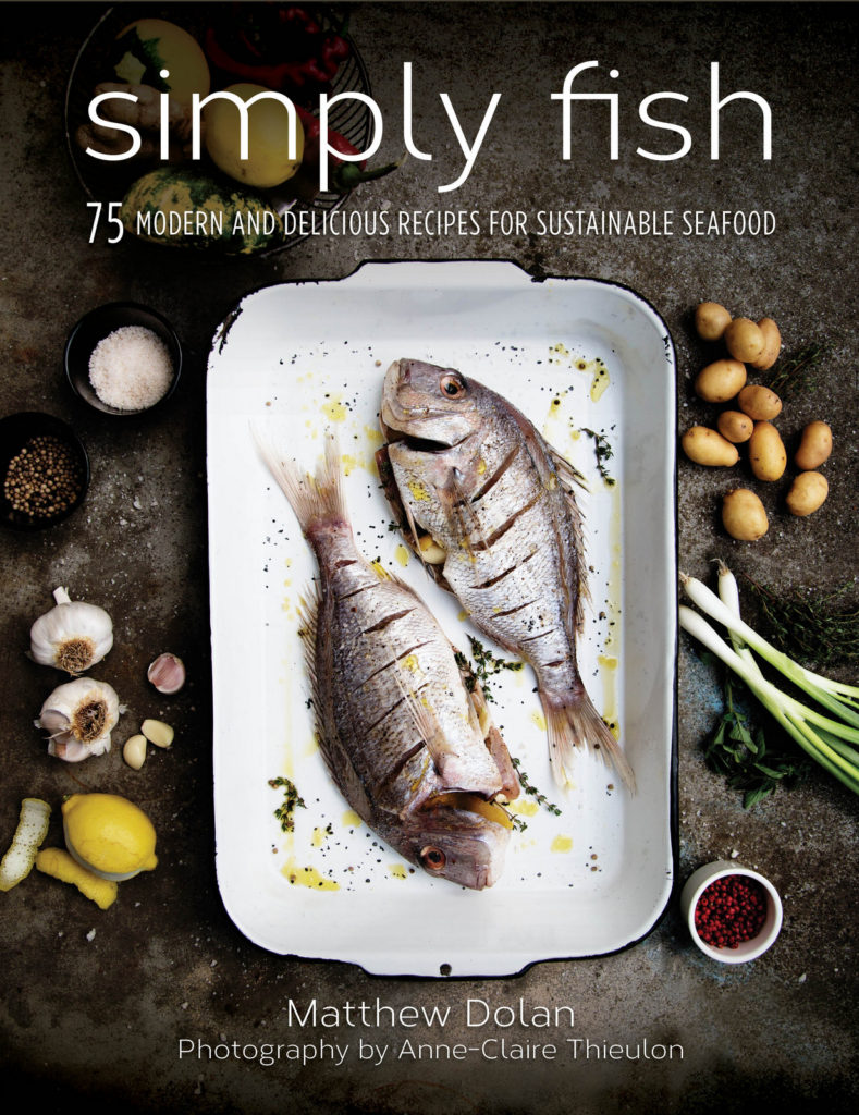 i8tonite with Chef and Simply Fish Author Matthew Dolan & Recipe for Smoked Salmon Frittata