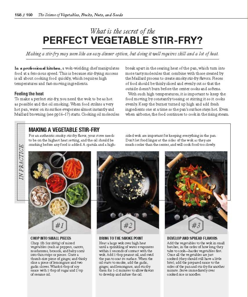 i8tonite with Food Scientist Dr. Stuart Farrimond & How to Make the Perfect Vegetable Stir-Fry