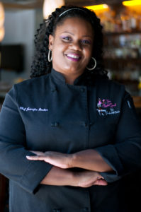 i8tonite with Chef Jennifer Hill Booker & Pimento Cheese Stuffed Potatoes Recipe