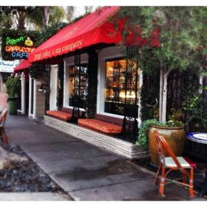 Aroma Coffee and Tea. Top 5 So Cal Coffee Shops: A Coffee Klatching, Caffeinated Road Trip
