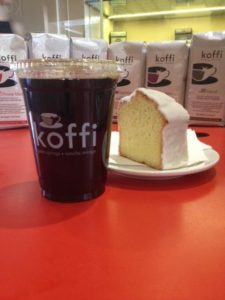 Koffi and Cake. Top 5 So Cal Coffee Shops: A Coffee Klatching, Caffeinated Road Trip