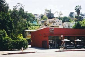 Outside LA Mill. Top 5 So Cal Coffee Shops: A Coffee Klatching, Caffeinated Road Trip