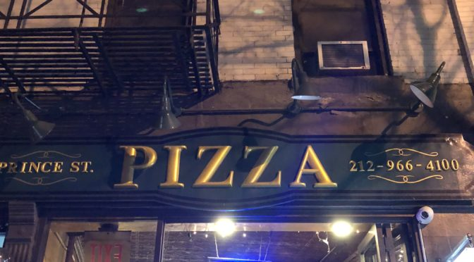 I8tonite: A New York Pizza Experience